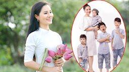 """Mẹ Hưng Yên 8 năm đẻ 4 con, mong mãi cô công chúa nhưng cuối cùng vẫn ngồi vững ở """"team mẹ chồng"""""""