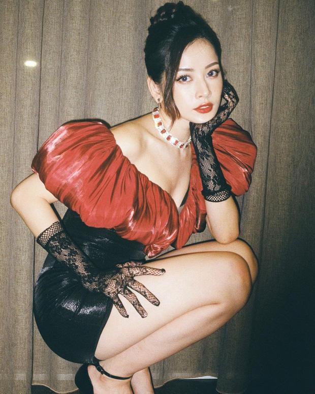 Sao Việt đụng chan chát váy áo cổ phồng: Tóc Tiên lên đồ tôn dáng nhưng khét nhất là body đồng hồ cát của Lệ Quyên - Ảnh 5.
