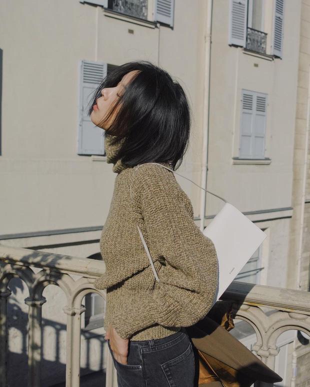 Kiểu áo len khắc tinh của nàng cổ ngắn, ngực to hay dáng béo tròn: Ghim ngay để né xa trước khi phí tiền mua - Ảnh 4.