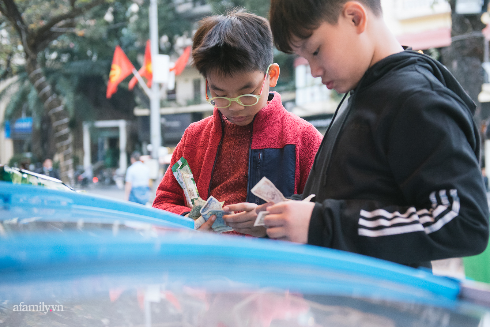 Ăn kem mùa đông ở Hà Nội, thú vui chỉ ai yêu mùa đông mới hiểu - Ảnh 3.