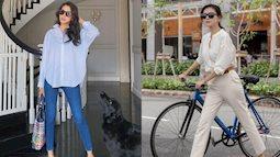 4 mẫu quần dài được mỹ nhân Việt 30+ ưa chuộng nhất, mặc kiểu gì cũng đẹp và thanh lịch đúng tuổi