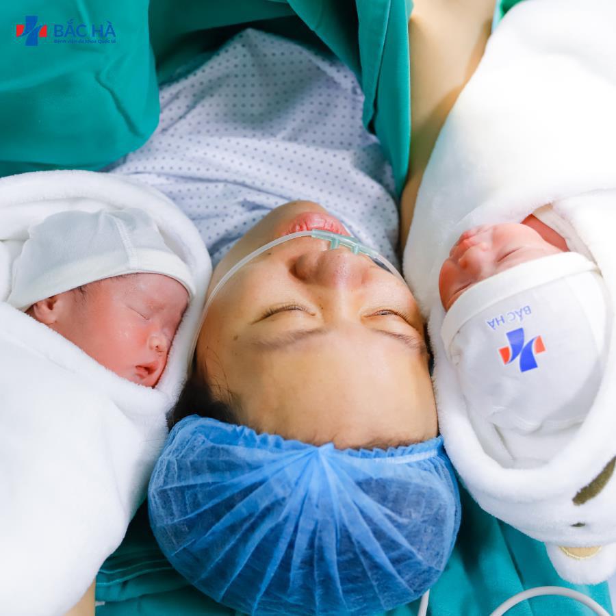 Truyện cổ tích giữa đời thực của sản phụ thai đôi IVF - Ảnh 4.
