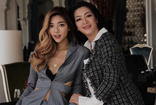 Vẻ gợi cảm của con gái hoa hậu điện ảnh Thanh Xuân và chưởng môn Vịnh Xuân - Ảnh 1.