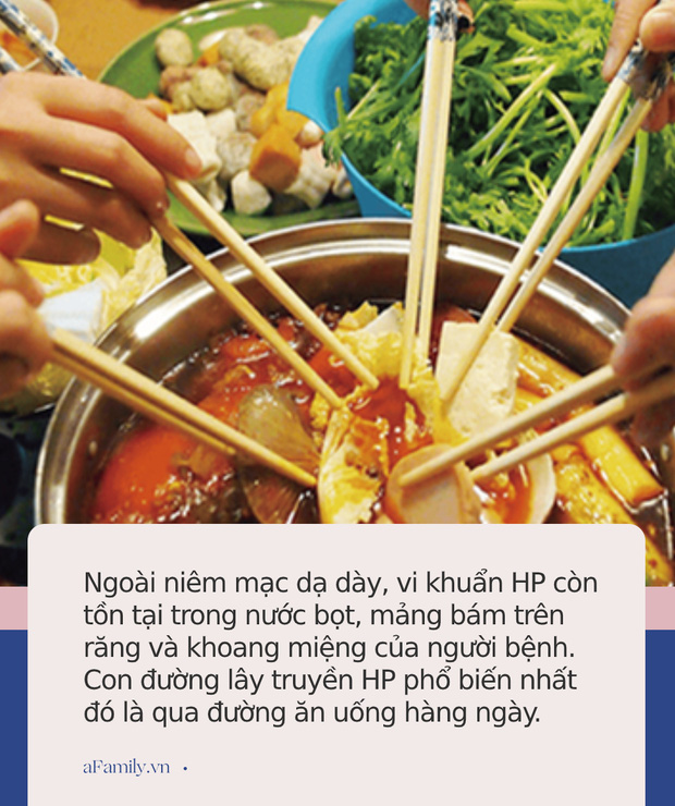 Loại vi khuẩn mà 70% người Việt đang nhiễm: Thuộc nhóm gây ung thư số 1, dễ lây lan cho nhau qua 4 thói quen tai hại khi ăn cơm  - Ảnh 4.