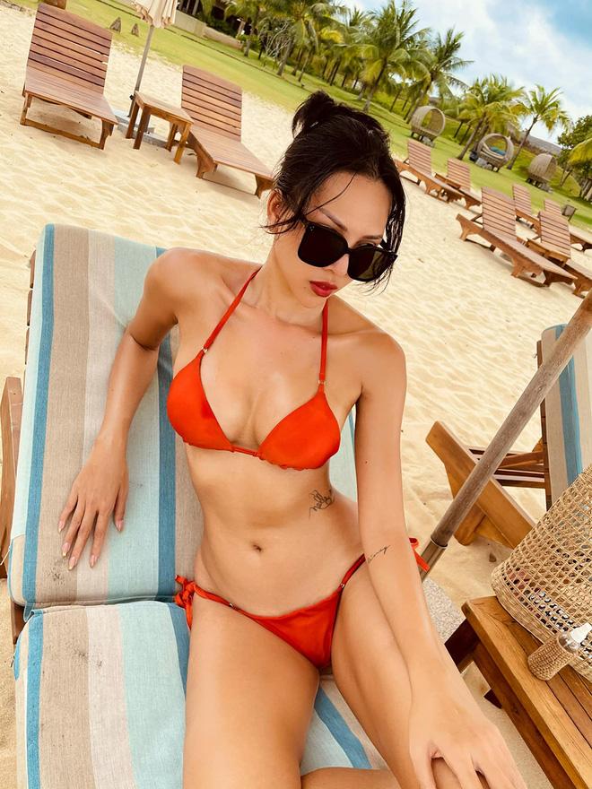 Vẻ nóng bỏng tuổi 33 của nữ siêu mẫu bị đồn yêu hoa hậu Kỳ Duyên - Ảnh 2.