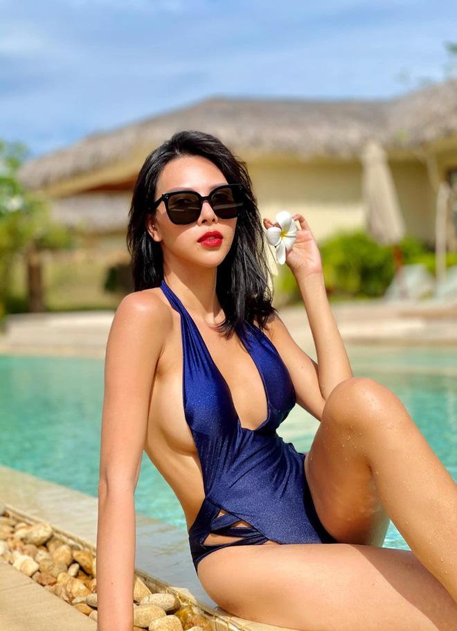 Vẻ nóng bỏng tuổi 33 của nữ siêu mẫu bị đồn yêu hoa hậu Kỳ Duyên - Ảnh 4.