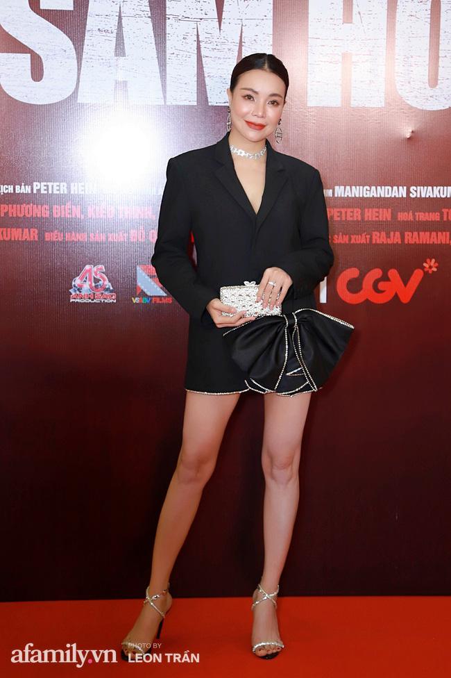 Việt Hương táo bạo với váy xẻ ngực sâu, con trai Anh Thư càng lớn càng điển trai đặc biệt là chiều cao vượt trội cả mẹ - Ảnh 19.