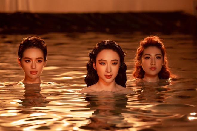 Á hậu Tú Anh đọ sắc cùng Angela Phương Trinh và Khánh Linh - Ảnh 3.