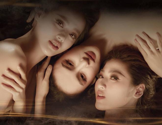 Á hậu Tú Anh đọ sắc cùng Angela Phương Trinh và Khánh Linh - Ảnh 2.
