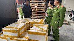 Thu mua 2,5 tạ cá khoai ướp phoóc-môn từ Quảng Bình về Thanh Hóa tiêu thụ