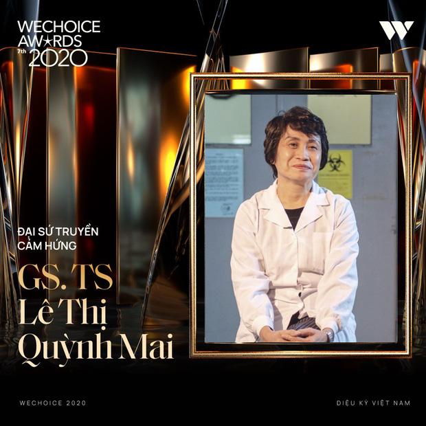 Tập thể bác sĩ tuyến đầu chống dịch tại Đà Nẵng, cha đẻ ATM gạo, SofM... trở thành Top 5 Đại sứ truyền cảm hứng WeChoice Awards 2020 - Ảnh 10.