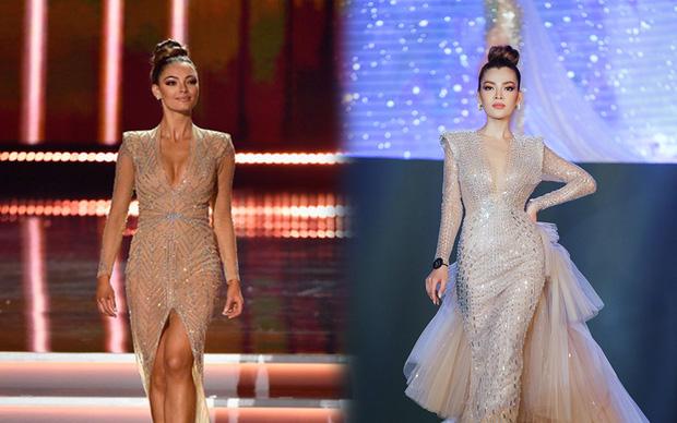 Xem Trân Đài ở Chung kết Đại Sứ Hoàn Mỹ mà cứ ngỡ cựu Hoa hậu Hoàn vũ Demi! - Ảnh 8.