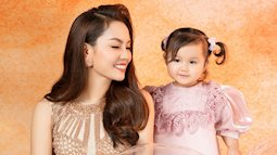 Ca sĩ Ngọc Anh khoe nhan sắc U40 bên con gái nhỏ