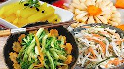 Các món dưa góp lạ mà quen bạn cần làm sớm để ăn chống ngán cỗ Tết