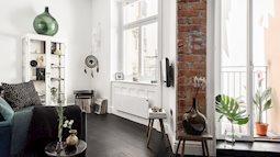 Tận dụng đồ cũ, căn hộ 42m² vẫn đẹp cá tính từng góc nhỏ
