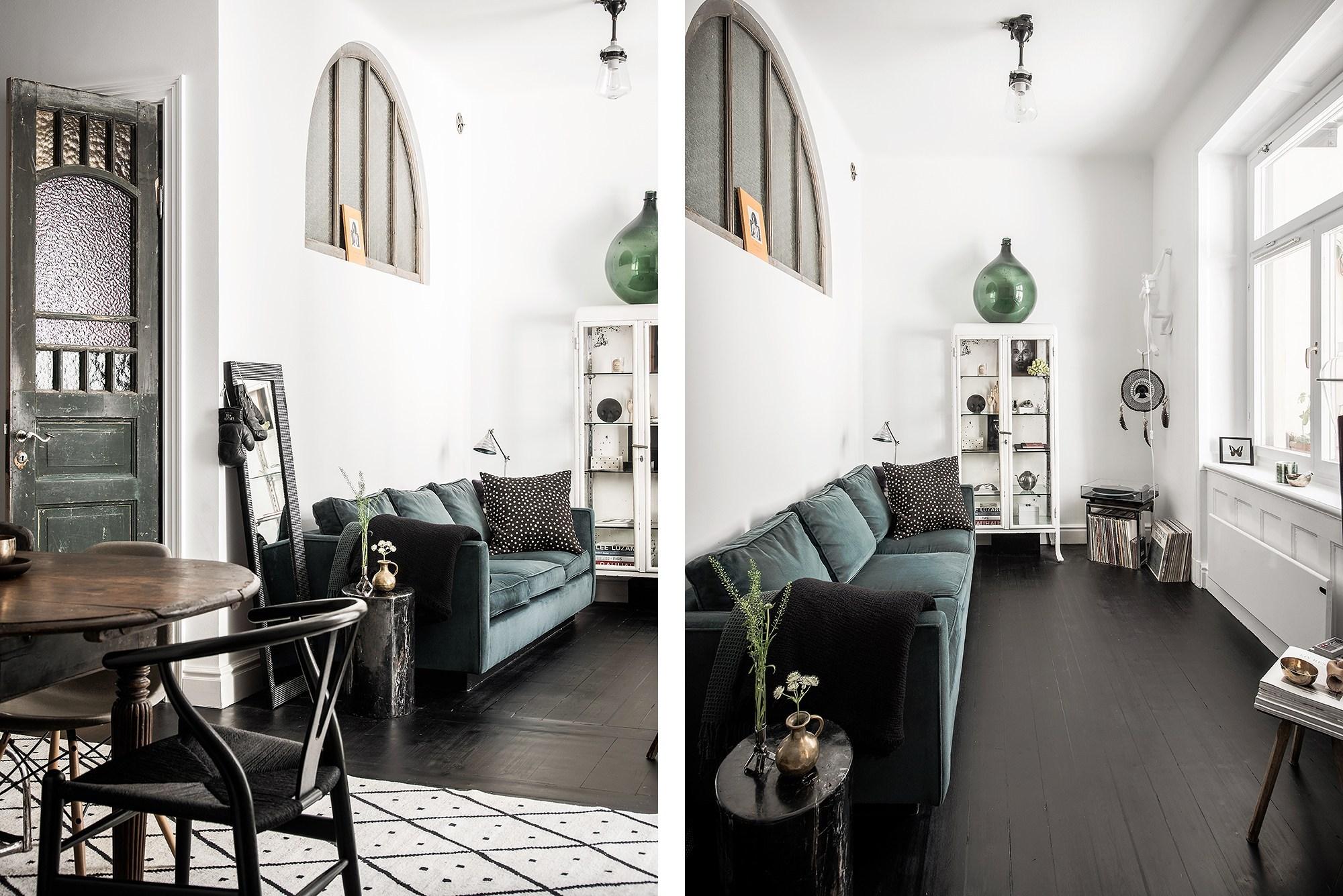 Tận dụng đồ cũ, căn hộ 42m² vẫn đẹp cá tính từng góc nhỏ - Ảnh 2.