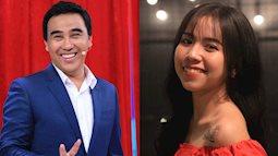 Con gái đỡ đầu xinh đẹp của Quyền Linh đến show thực tế tìm bạn trai