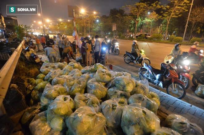 Cuộc giải cứu nông sản Hải Dương lúc nửa đêm tại Hà Nội, nhiều người mua cả tạ hàng - Ảnh 10.