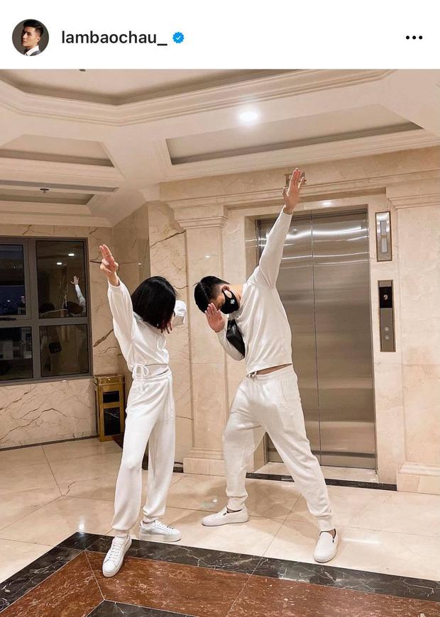 Bằng chứng Lệ Quyên - Lâm Bảo Châu sống chung nhà: Check-in từ thang máy đến bãi xe, bức ảnh giữa đêm lộ chi tiết cực rõ! - Ảnh 4.