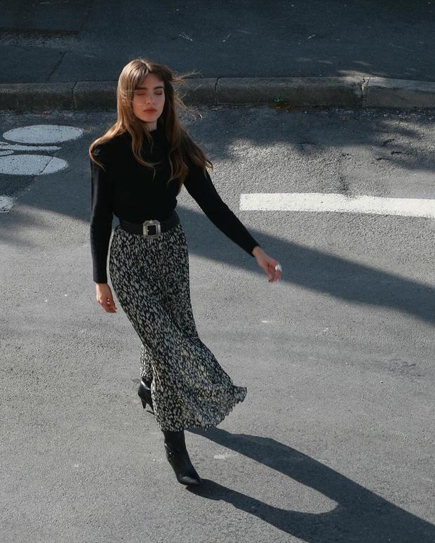 Chỉ bằng cách học 10 công thức diện chân váy chuẩn sang xịn của gái Pháp, style của bạn sẽ lên một tầm cao mới - Ảnh 5.