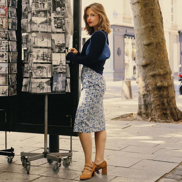 Chỉ bằng cách học 10 công thức diện chân váy chuẩn sang xịn của gái Pháp, style của bạn sẽ lên một tầm cao mới - Ảnh 6.