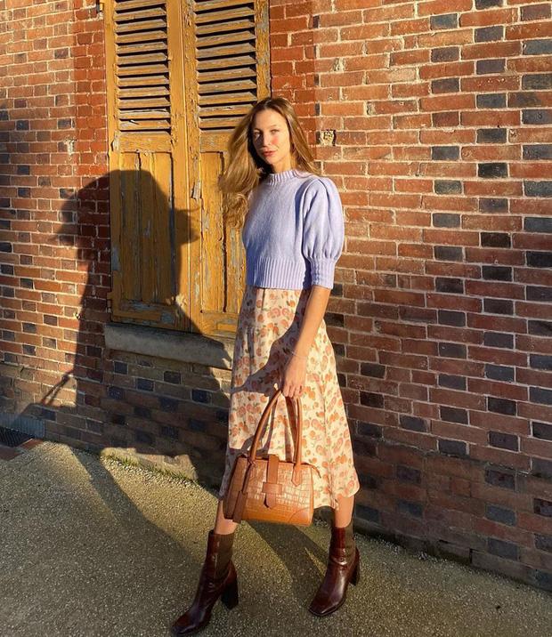 Chỉ bằng cách học 10 công thức diện chân váy chuẩn sang xịn của gái Pháp, style của bạn sẽ lên một tầm cao mới - Ảnh 8.