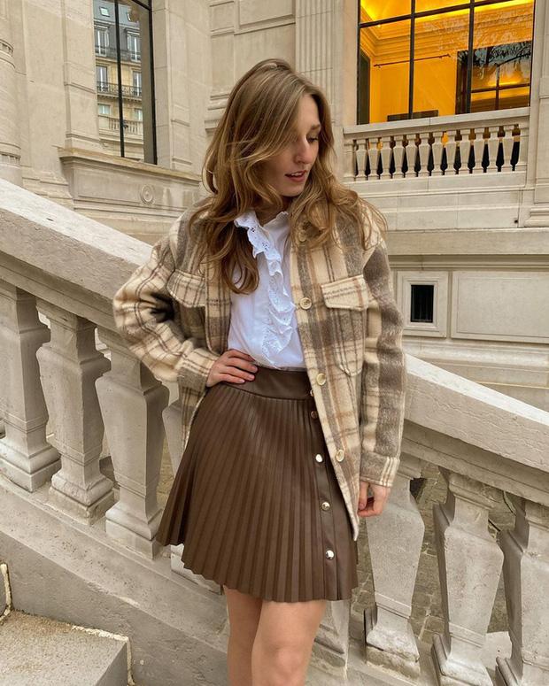 Chỉ bằng cách học 10 công thức diện chân váy chuẩn sang xịn của gái Pháp, style của bạn sẽ lên một tầm cao mới - Ảnh 10.