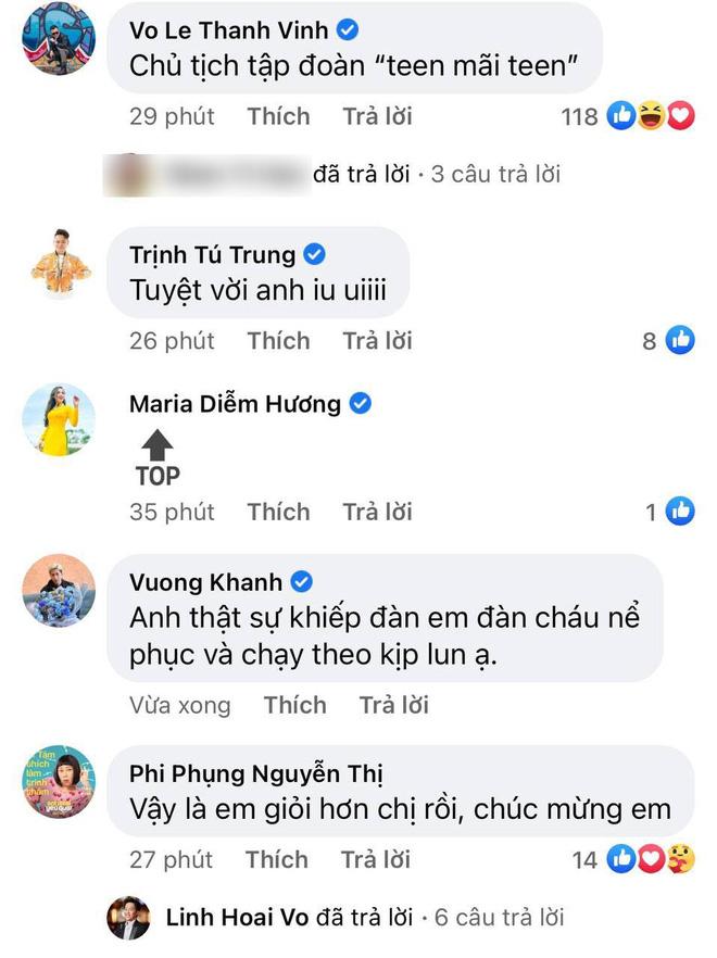 Người chơi hệ MXH đỉnh nhất Vbiz gọi tên NS Hoài Linh: Đạt nửa triệu đăng kí sau 2 tuần, con trai và dàn sao Vbiz chúc mừng - Ảnh 6.