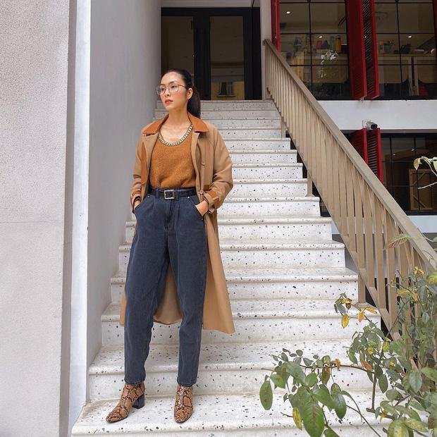 Làm dâu nhà hào môn nhưng Hà Tăng chỉ mê diện lại giày cũ, nể nhất là mỗi lần lại một style khác biệt - Ảnh 2.
