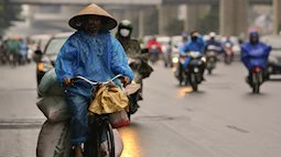 Miền Bắc tiếp tục đón không khí lạnh tăng cường vào chiều tối nay, Hà Nội tiếp tục chuỗi ngày mưa rét