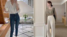 4 kiểu quần công sở gái Hàn đang diện nhiều nhất: Đã sành điệu khỏi nghĩ còn hack dáng diệu kỳ
