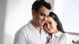 Võ Hạ Trâm khoe hình ảnh mang thai con đầu lòng với chồng Ấn Độ