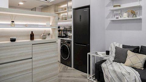"""Căn hộ 27m² chứa đựng cả một """"thế giới"""" bên trong nhờ khéo thiết kế không gian lưu trữ thông minh"""