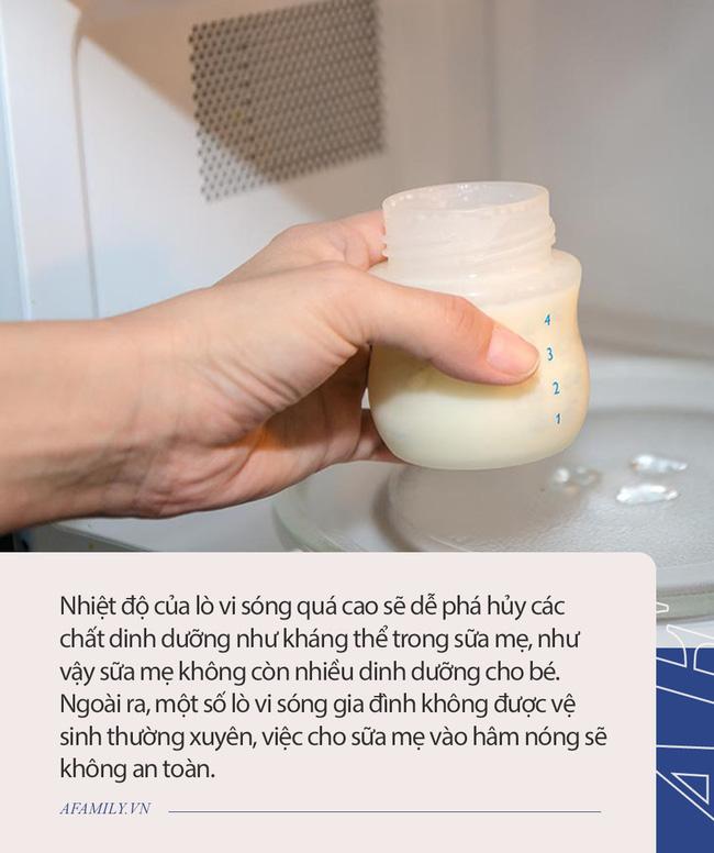 6 nguyên tắc khi bảo quản sữa mẹ, đặc biệt cần chú ý 2 điều nếu không trẻ sau khi bú bị đau bụng - Ảnh 2.