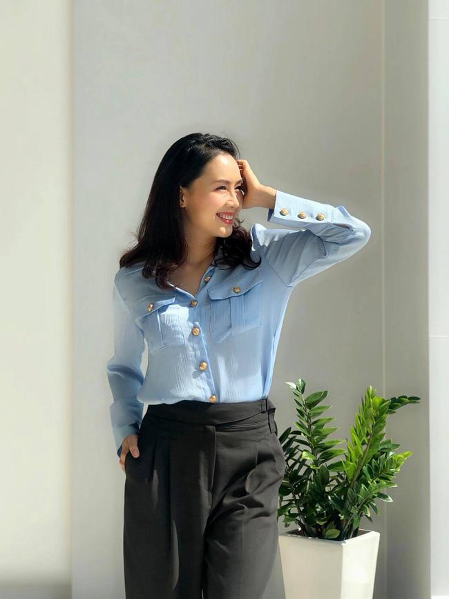 Hồng Diễm có loạt outfit chuẩn công sở mà vẫn cực trẻ xinh, chị em học theo để ghi trọn điểm thanh lịch  - Ảnh 12.
