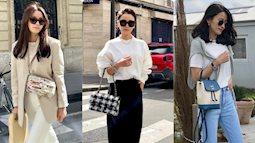 """Blogger người Hàn mê style Pháp: Học cách """"lười"""" để mặc đẹp hóa ra ổn áp ra phết"""