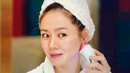 Sở hữu làn da dầu, Son Ye Jin rửa mặt bằng nước chanh pha loãng để da ráo mịn và sáng căng