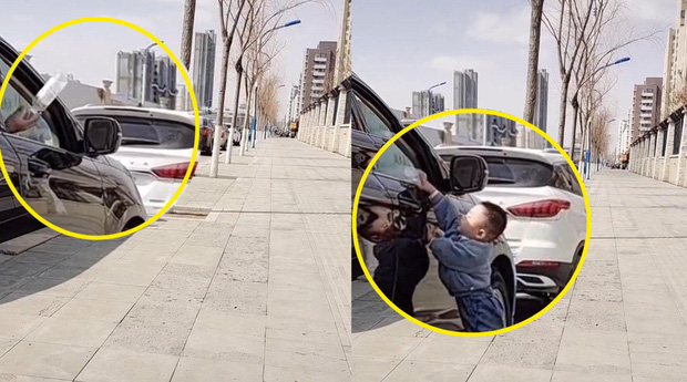 Cậu bé 2 tuổi thấy người đi ô tô vứt chai nhựa xuống đường, hành động sau đó khiến người mẹ sửng sốt vì quá to gan nhưng ai cũng đồng tình - Ảnh 2.
