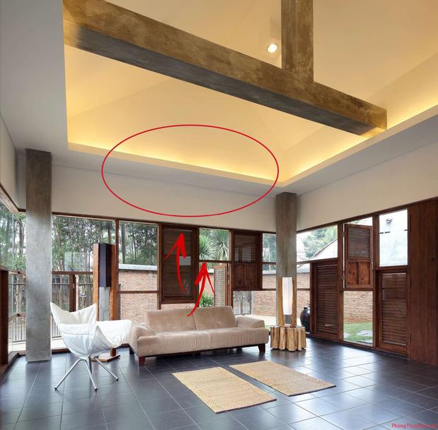 5 cấm kỵ về phong thủy trong thiết kế nhà: Không cần nhờ đến thầy, bạn có thể tự mình khắc phục - Ảnh 3.