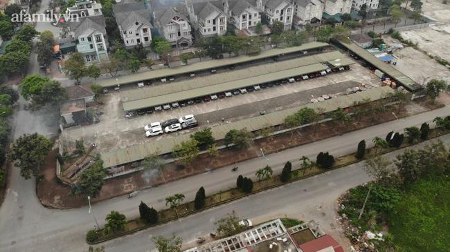 Bãi trông giữ xe đã được hình thành