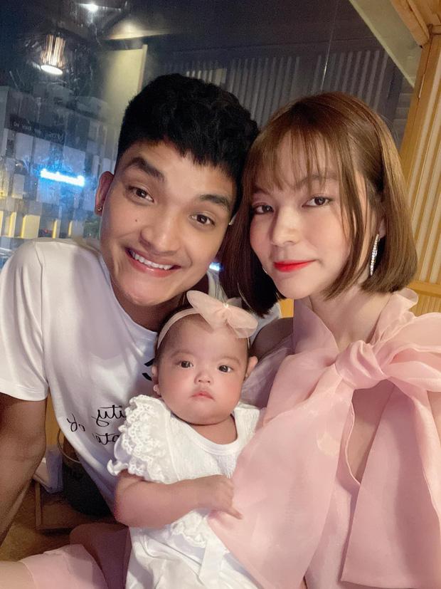 Mạc Văn Khoa khoe ảnh gia đình hạnh phúc, netizen xỉu up xỉu down với gương mặt tấu hài siêu cưng của con gái nam diễn viên - Ảnh 4.