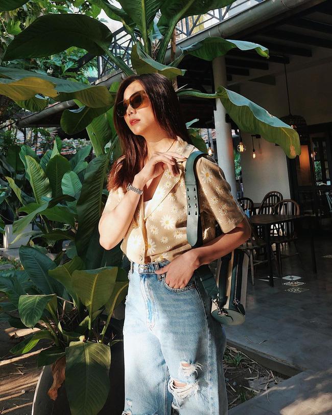 Thanh Hằng mới cập nhật một loạt outfit mùa Hè xinh ngây ngất, nàng 30+ học theo thì đảm bảo trẻ trung mà vẫn thanh lịch - Ảnh 7.