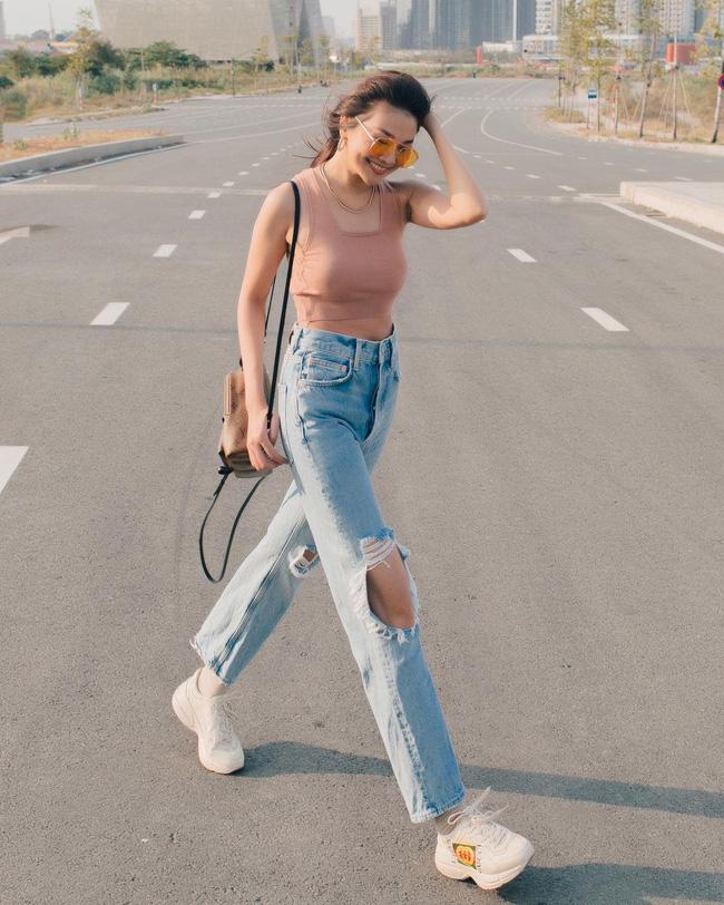 Thanh Hằng mới cập nhật một loạt outfit mùa Hè xinh ngây ngất, nàng 30+ học theo thì đảm bảo trẻ trung mà vẫn thanh lịch - Ảnh 5.