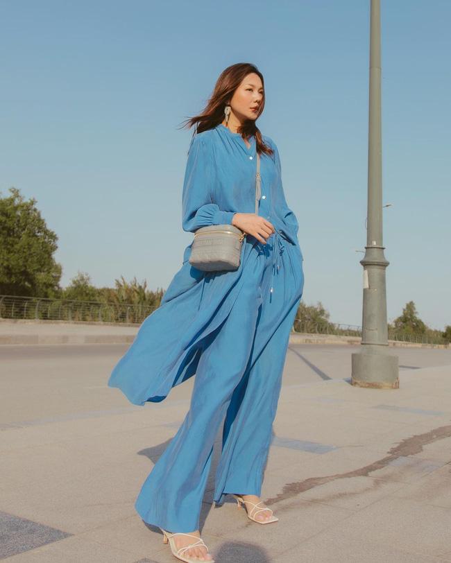 Thanh Hằng mới cập nhật một loạt outfit mùa Hè xinh ngây ngất, nàng 30+ học theo thì đảm bảo trẻ trung mà vẫn thanh lịch - Ảnh 3.
