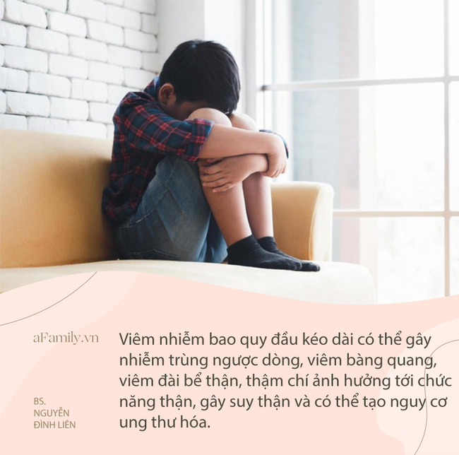 Bé trai 5 tuổi bị viêm nhiễm vùng kín, chảy mủ nặng bởi sai lầm thường gặp của bố mẹ - Ảnh 1.
