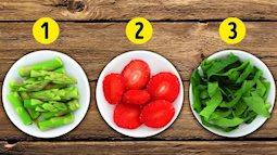 Ăn đủ 5 màu này theo chế độ ăn cầu vồng có thể giúp bạn giảm cân, cải thiện sức khỏe và ngừa ung thư
