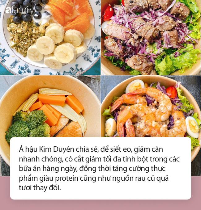 Thói quen ăn uống giúp Á hậu Kim Duyên giảm 10kg, sẵn sàng chinh chiến đấu trường nhan sắc quốc tế - Ảnh 2.