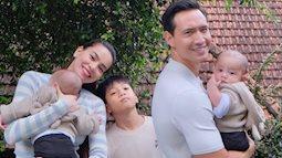 Hình ảnh gia đình 5 người siêu ngọt ngào của Hồ Ngọc Hà - Kim Lý ở Đà Lạt, nhìn cách cặp vợ chồng dõi theo Subeo mà xúc động