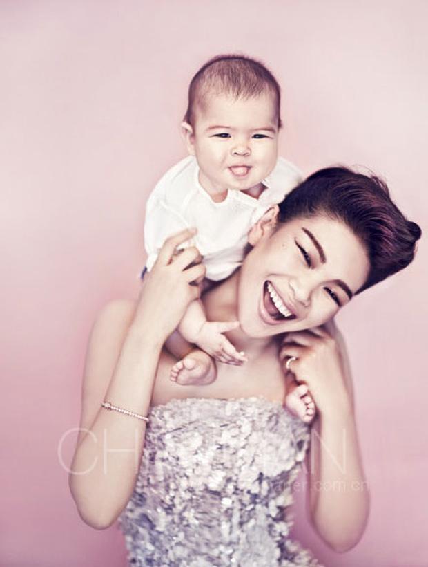 Siêu mẫu xấu nhất Trung Quốc kết hôn và sinh con trai, nhìn ngoại hình em bé ai cũng bất ngờ - Ảnh 6.