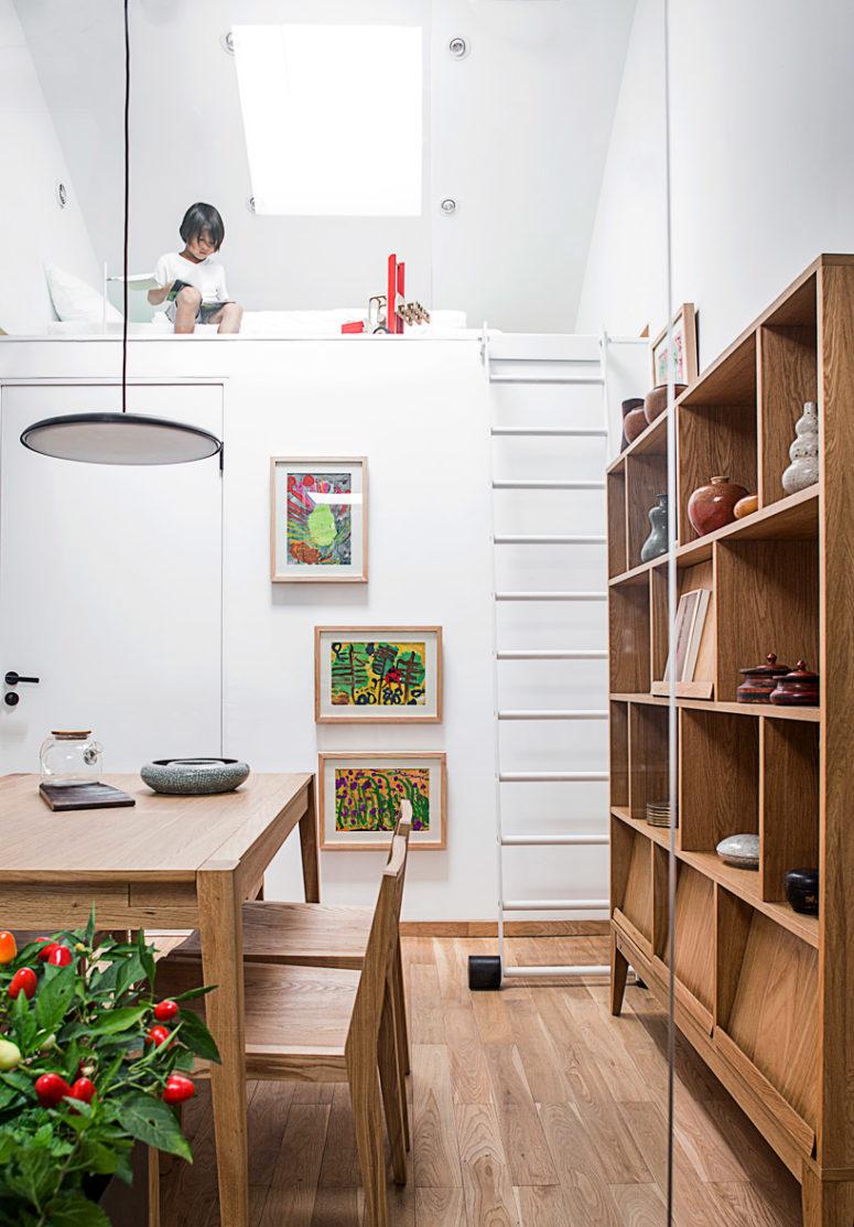 Căn nhà nhỏ 45m² với thiết kế
